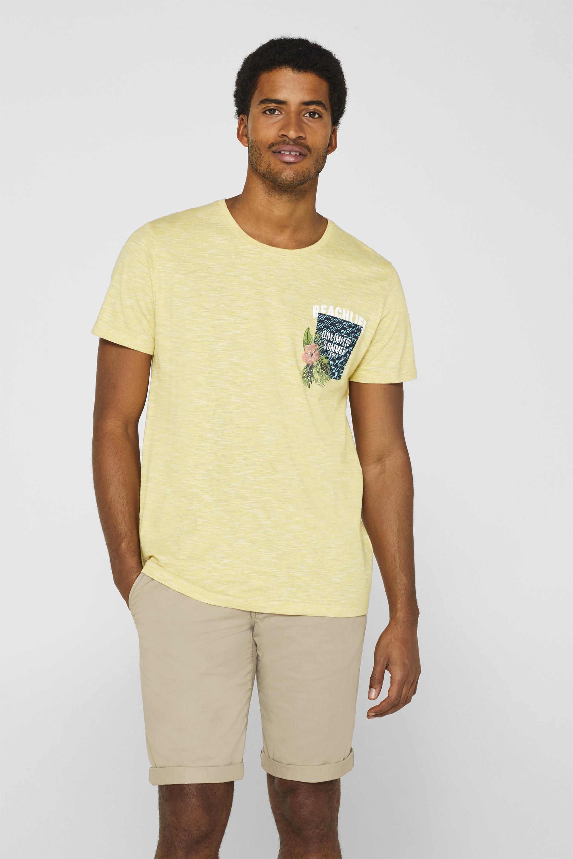7fd8d566 Product Detail,Slub jersey T-shirt with a print,T-shirts & Polo shirts