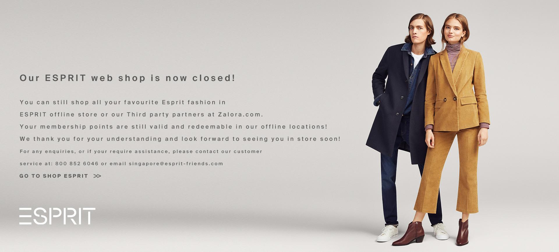 Esprit Fashion for Women, Men & Kids | Shop Now At Our