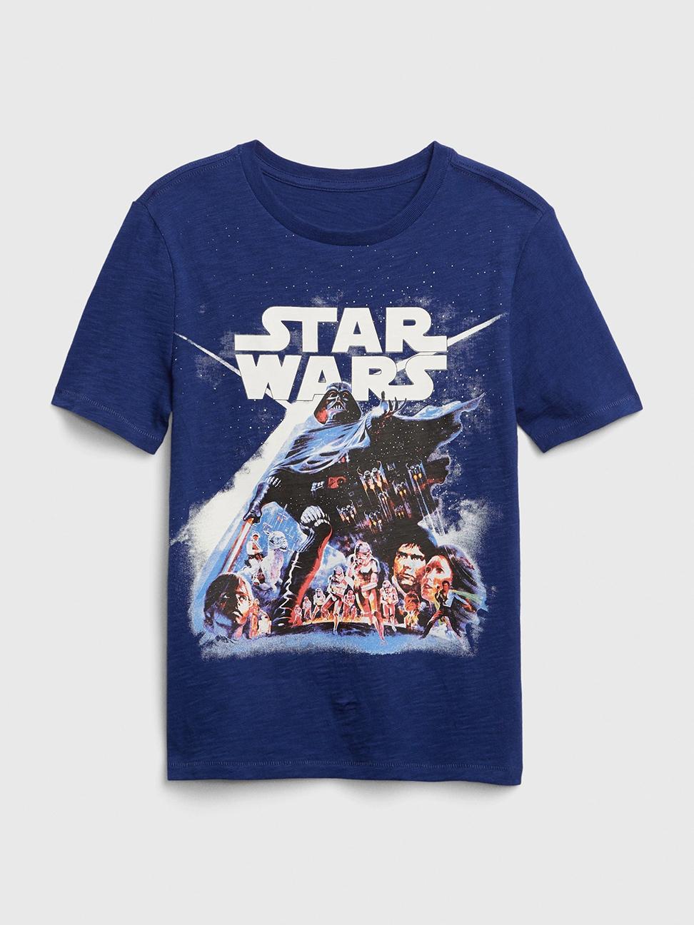 男童 Gap x Star Wars星際大戰系列螢光短袖T恤