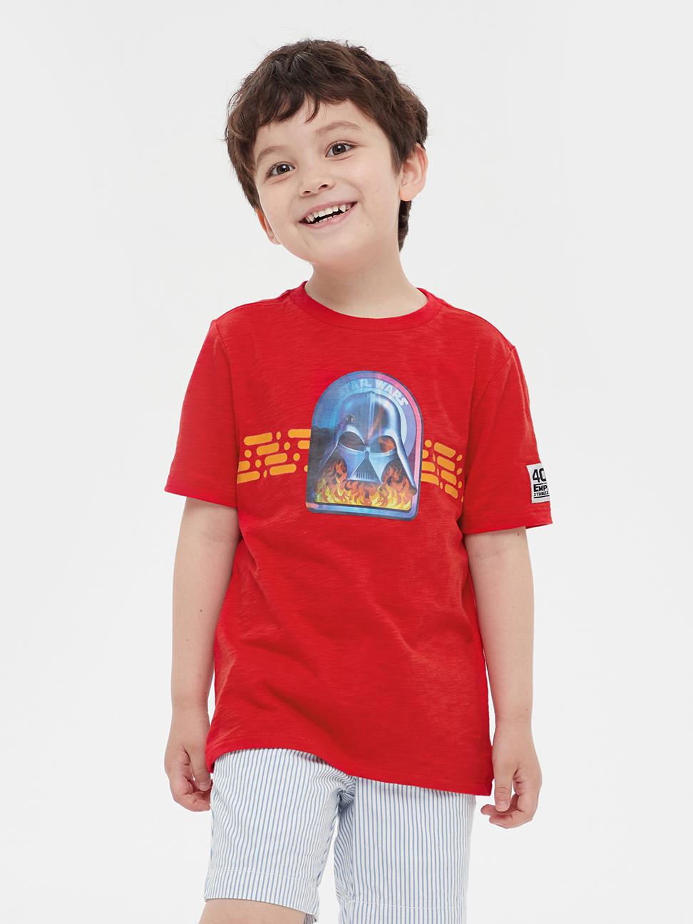 男童 Gap x Star Wars星際大戰系列趣味圓領短袖T恤