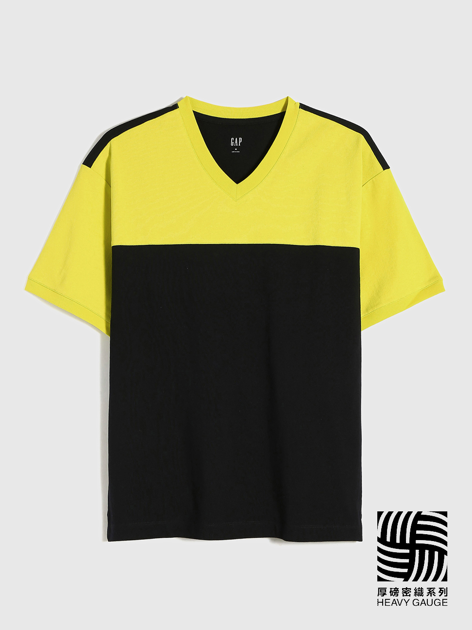 男裝 厚磅密織系列 純棉質感厚磅短袖T恤