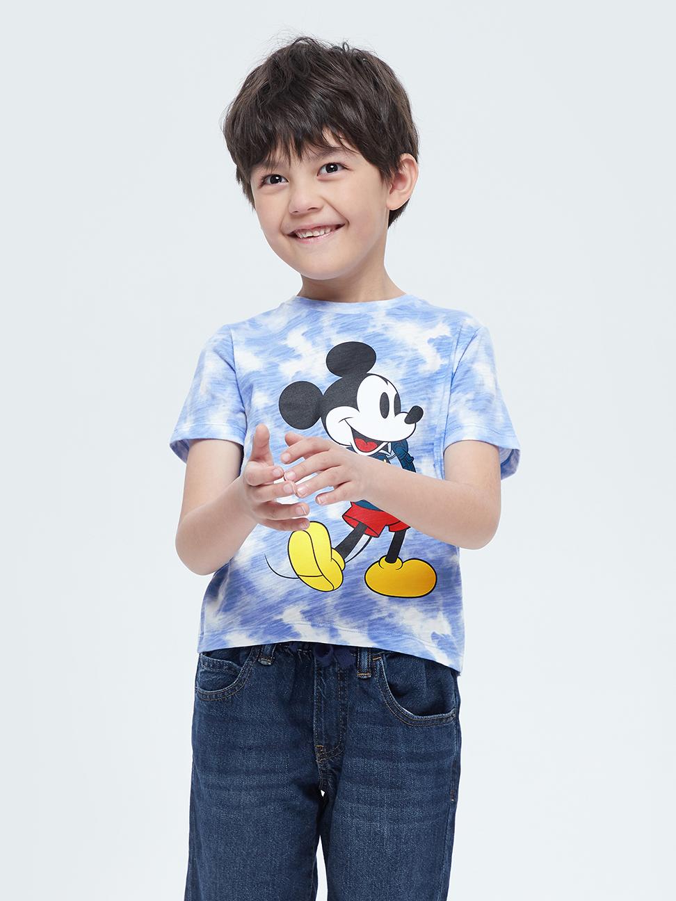 幼童 Gap x Disney 迪士尼系列印花短袖T恤