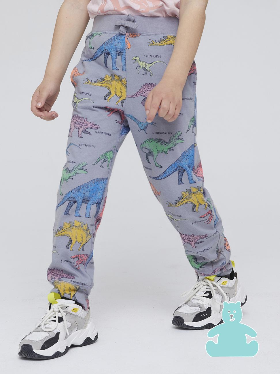 幼童 布萊納系列 口袋印花鬆緊休閒褲