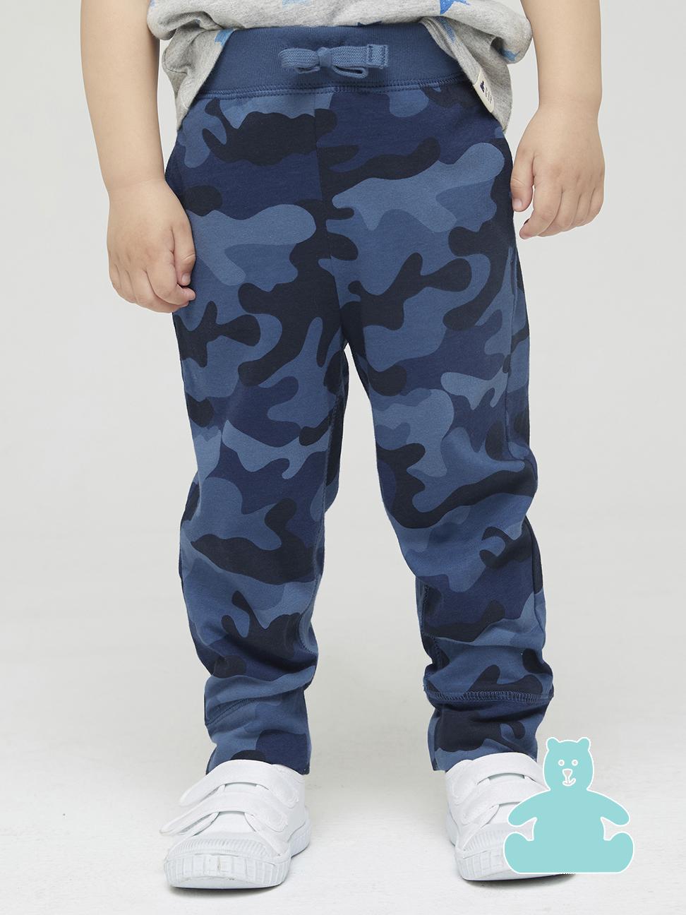 幼童 布萊納系列 迷彩時尚休閒運動休閒褲