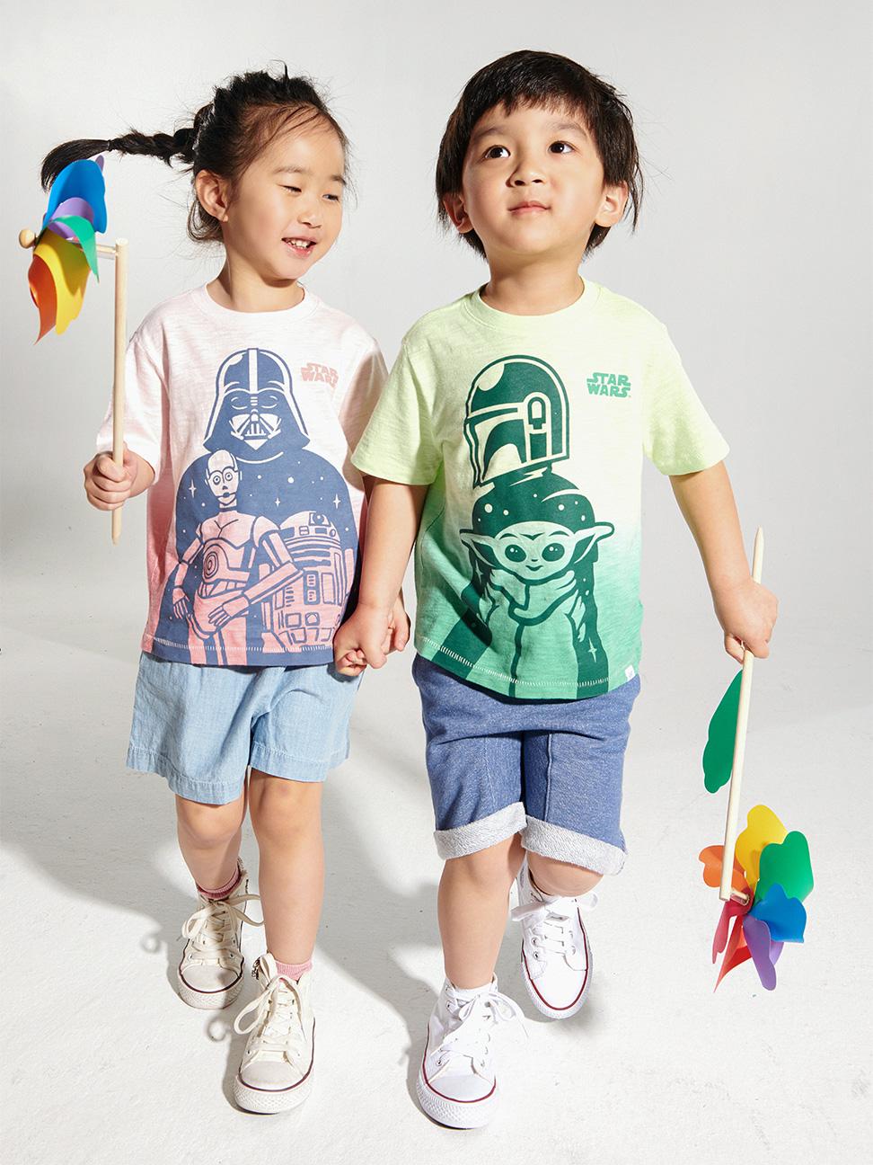 幼童 Gap x Star Wars星際大戰系列印花短袖T恤