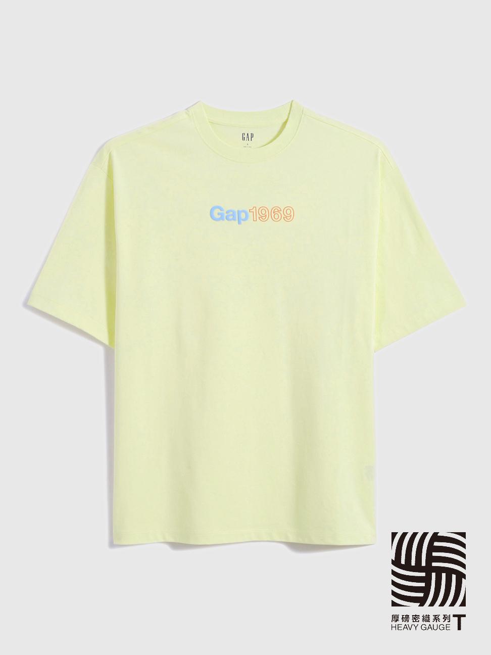 女裝 厚磅密織系列 Logo純棉圓領短袖T恤